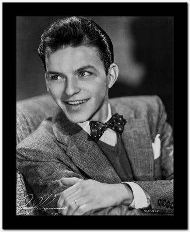 Frank Sinatra Gripping his Shoulder High Quality Photo