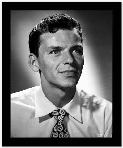 Frank Sinatra Happy in White Shirt High Quality Photo
