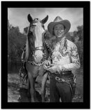 Roy Rogers Posed in Cowboy Outfit High Quality Photo
