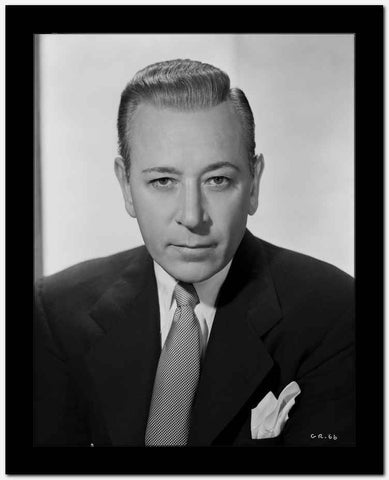 George Raft Posed in Suit High Quality Photo