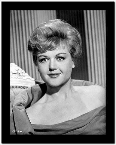 Angela Lansbury Looking at the Camera wearing a Dress High Quality Photo