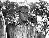 Paul Newman Posed in Dirty Outfit Premium Art Print