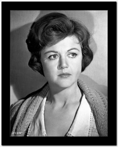 Angela Lansbury on a Knitted Top and posed High Quality Photo