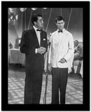 Dean Martin and Jerry Lewis Scene with Two Men in a Formal Attire High Quality Photo