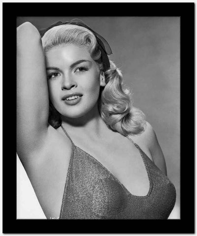 Jayne Mansfield in Lingerie Classic Portrait High Quality Photo