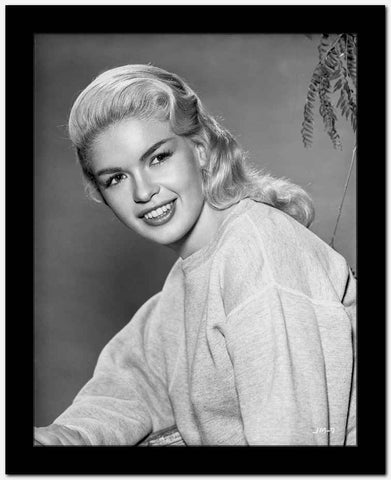 Jayne Mansfield in Sweater Portrait High Quality Photo