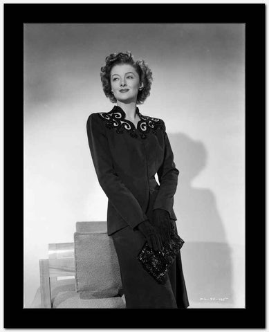 Myrna Loy Holding Bag in Blouse High Quality Photo