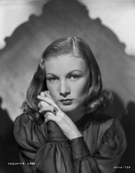 Veronica Lake #108  Premium Art Print Hollywood Print