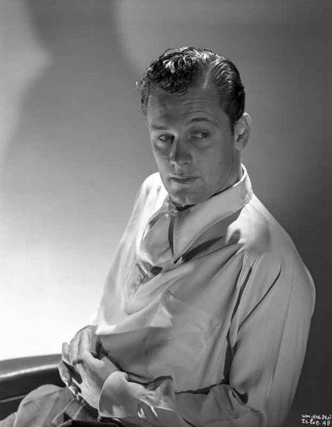 William Holden in White Sleeve Portrait Premium Art Print