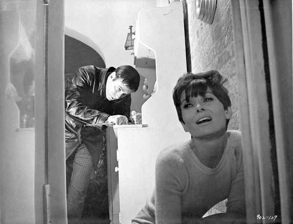 Audrey Hepburn Chased by Killer Wait Until Dark Scene  Premium Art Print High ...