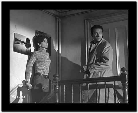 Audrey Hepburn and Alan Arkin Wait Until Dark Scared High Quality Photo High Q...