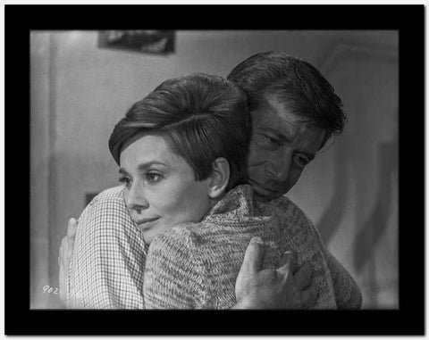 Audrey Hepburn and Alan Arkin Wait Until Dark High Quality Photo