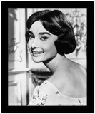 Audrey Hepburn smiling Sideways Portrait High Quality Photo