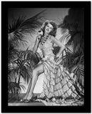 Rita Hayworth Posed with Hand on Hip High Quality Photo