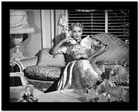 Anne Francis Reclining in Classic High Quality Photo