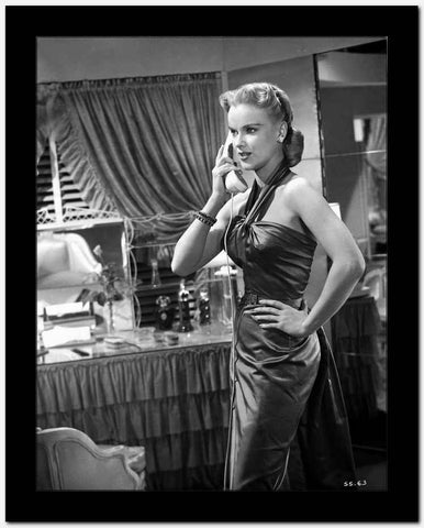 Anne Francis Calling in Classic High Quality Photo