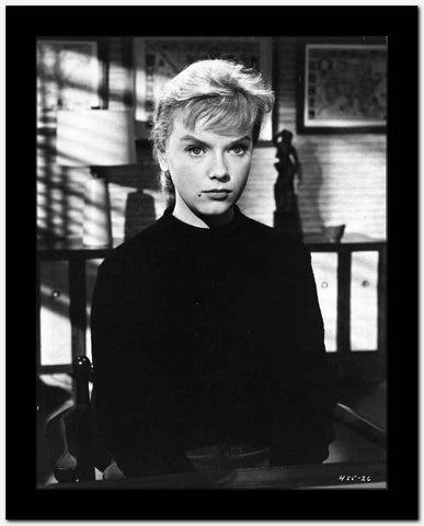 Anne Francis sitting in Classic Portrait High Quality Photo