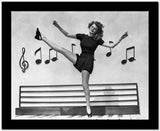 Rita Hayworth Dancing in Dress High Quality Photo