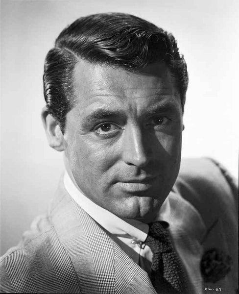 Cary Grant Head Shot Portrait Premium Art Print