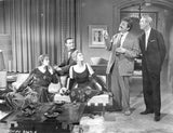 Bell Book and Candle Movie Cast Members in Living Room Scene Excerpt from Film High Quality Photo