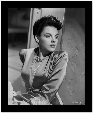Judy Garland portrait hair up High Quality Photo