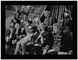 Greta Garbo Group Picture Movie Scene High Quality Photo