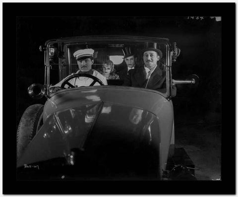 Greta Garbo Car Scene in the Movie High Quality Photo