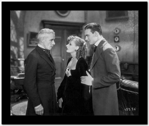 Greta Garbo Arguing with a Man High Quality Photo