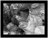 Greta Garbo Romantic Scene High Quality Photo