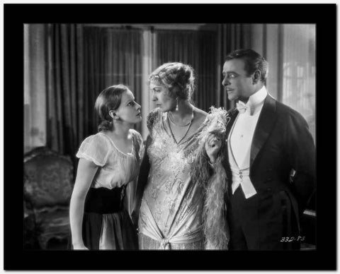 greta Garbo After Wedding Ceremony Movie Scene High Quality Photo