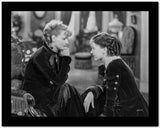 Greta Garbo Ladies in Black During a Movie Scene High Quality Photo