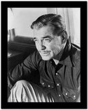 Clark Gable Portrait With A Moustache High Quality Photo
