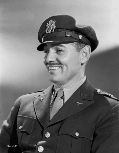 Clark Gable Celebrities Who Served In The Military  Premium Art Print High...