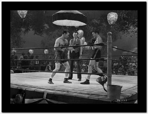Errol Flynn Boxing in Classic High Quality Photo