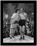 Errol Flynn Talking in Boxing Ring High Quality Photo