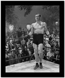 Errol Flynn standing in Boxing Ring High Quality Photo