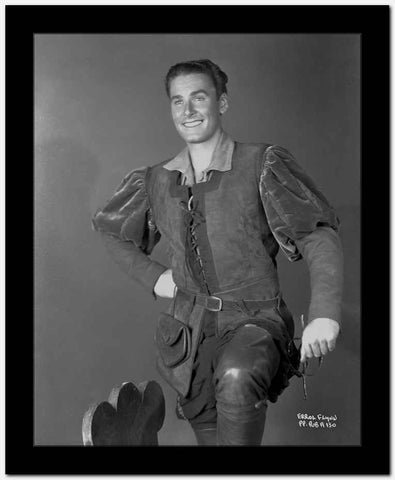 Errol Flynn Hand on Hip in Classic High Quality Photo