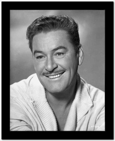 Errol Flynn Handsome Portrait High Quality Photo