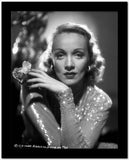 Marlene Dietrich Posed in Glossy Classic Sweater High Quality Photo
