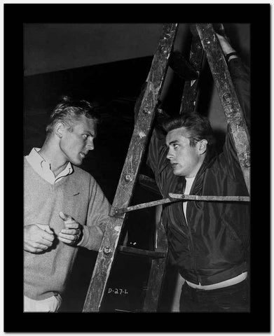 James Dean and Tab Hunter Posed in Classic High Quality Photo