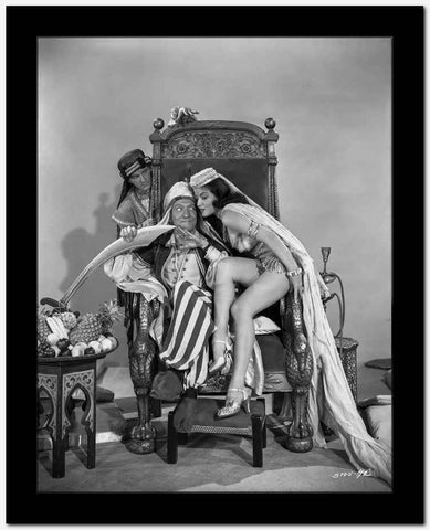 Dead End Kids Cast Member in a Royal Chair with a Girl and a Guy at Back of The Chair High Quality Photo