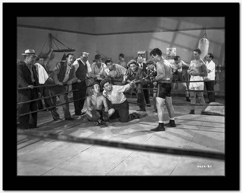 Dead End Kids Boxing On the Ring in Classic High Quality Photo