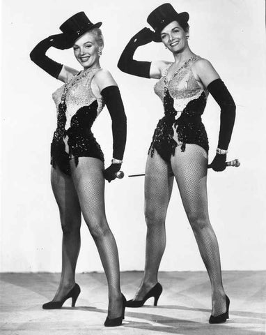 Marilyn Monroe in Gentlemen Prefer Blondes with Top Hat and Cane - Photo... High Quality Photo