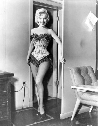 Marilyn Monroe in Corset with Fringe High Quality Photo