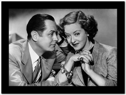 Bette Davis Couple Picture in Classic High Quality Photo