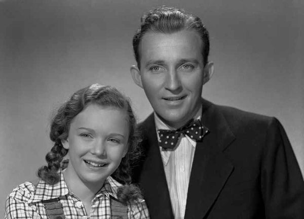 Bing Crosby in Formal Wear with Daughter Portrait Premium Art Print