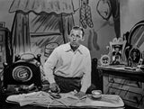 Bing Crosby Ironing wearing Long Sleeves Premium Art Print