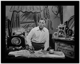 Bing Crosby Ironing wearing Long Sleeves High Quality Photo