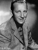 Bing Crosby smiling in Checkered Suit Portrait Premium Art Print
