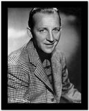 Bing Crosby smiling in Checkered Suit Portrait High Quality Photo